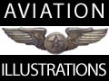 Illustrations avions, illustateur aviation
